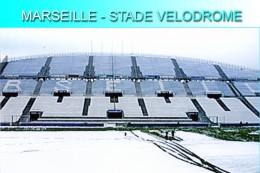 Marseille (13) Stade Vélodrome - Trbune Ganay Sous La Neige - Janvier 2002 - Fútbol