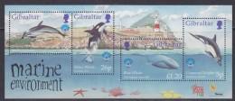Gibraltar 1998 Marine Environment M/s ** Mnh (32138C) - Gibraltar