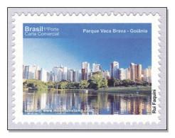 Brazil 2010 Goiás  Parque Vaca Brava – Goiânia Skyline City Architecture MNH ** - Brazil