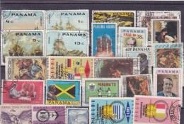 PANAMA : Y&T : Lot De 20 Timbres  Oblitérés - Panama
