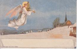 ANGE DE NOEL - ILLUSTRATION - DOS UNIQUE - 23.12.1899 - TB - Anges