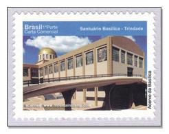 Brazil 2010 Goiás  Santuário Basilica – Trindade Kirche Church MNH ** - Brazil