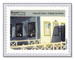 Brazil 2010 Goiás  Casa De Cora – Cidade De Goiás Architecture Windows MNH ** - Brésil
