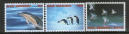 San Marion 1996 Fish Penguins Duck Bird Wildlife Animals Sc 1351,53,5 MNH # 3736 - Marine Life