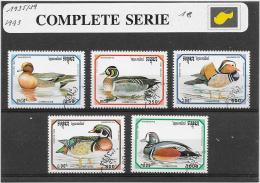 Cambodge 1993 Y&T Nr° 1135/39 - Cambodge