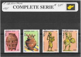 Burkina Faso 1985 Y&T Nr° 682/684 +PA312 - Burkina Faso (1984-...)