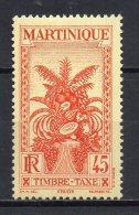 2/ Martinique Taxe 17  Neuf  XX  , Cote  1,50€ , Disperse Trés Grosse Collection ! - Martinique (1886-1947)