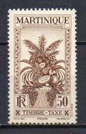 2/ Martinique Taxe 18  Neuf  XX  , Cote  2,30€ , Disperse Trés Grosse Collection ! - Martinique (1886-1947)