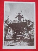 B1-Postcard-Detalji Sa Radne Akcije Samac-Sarajevo /Working Actions Rilway Samac-Sarajevo 1947. - Bosnia And Herzegovina
