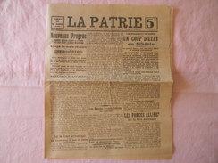 JOURNAL LA PATRIE DU 13 JUILLET 1918 - Journaux - Quotidiens