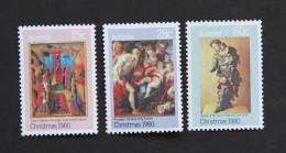 AUSTRALIA 1980 Christmas Set MUH SG 758-60 Scott 756-8 Art - Mint Stamps