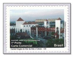 "Brazil 2009 Ceará Cultural Center ""Dragão Do Mar"" MNH ** - Unused Stamps"