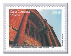 Brazil 2009 Tocantins Catedral Nossa Senhora Das Mercês - Porto Nacional Catherdral MNH ** - Nuevos