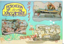 Sciacca (Agrigento, Sicilia) Vedute E Pescheria Xaccamare - Agrigento