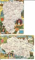 Lot 82 Cartes Géographiques FRANCE  12731 - 5 - 99 Cartoline