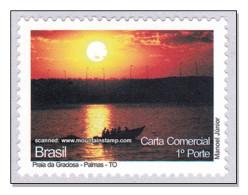 Brazil 2009 Tocantins Praia Da Graciosa - Palmas Sunset Boat MNH ** - Brasil