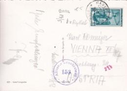 ITALIE 1952 CARTE DE MADERNO CENSUREE - 6. 1946-.. Repubblica