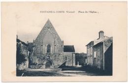FONTAINE LE COMTE - Place De L'Eglise - France