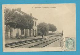 CPA 3 - Chemin De Fer La Gare PASSAVANT- LA ROCHERE 70 - Autres Communes