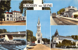 78- CROISSY-SUR-SEINE- MULTIVUE - Croissy-sur-Seine
