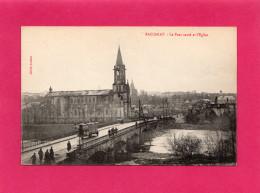 BACCARAT, Le Pont Sauté Et L'Eglise, Animée, Guerre 14-18, (Antoine), 54 Meurthe Et Moselle. - Weltkrieg 1914-18