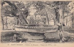 Plonévez Du Faou Saint-Herbot  29 - Château De Rusquec -  Vasque - Plonevez-du-Faou
