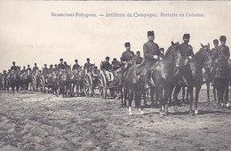 Brasschaet-Polygone - Artillerie De Campagne - Batterie En Colonne (animation, 1909) - Brasschaat
