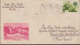 N.VIETNAM  TIMBRE DE FRANCHISE SCOTT N°M23  SUR LETTRE  Réf  G234 - Viêt-Nam