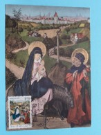 Kerstmis - Noël Cercle Saint Gabriel ( Stempel Namur ) Det. Zie Kersdag 1971 - Anno 19?? ( Zie Foto Voor Details ) !! - Poste & Facteurs