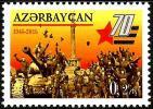 Azerbaijan - 2015 - 70th Anniversary Of Victory In World War II - Mint Stamp - Azerbaïjan