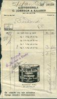 1932 Iceland Kaffibrensla O. Johnson & Kaaber, Reykjavik Shop Receipt / Mackintosh's Toffee De Luxe Illustrated Adve - Invoices & Commercial Documents