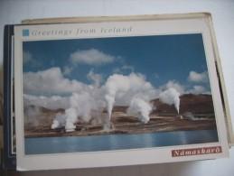 IJsland Iceland Island Namaskaro - IJsland