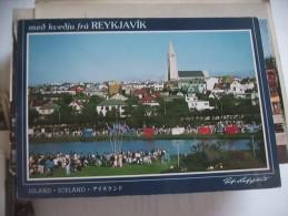 IJsland Iceland Island Reykjavik Med Kvedju - IJsland