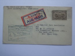 CANADA 1929 FIRST FLIGHT COVER FORT McMURRAY TO FORT RESOLUTION - Erst- U. Sonderflugbriefe