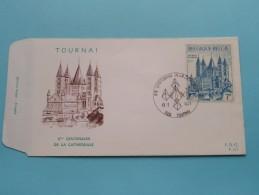 TOURNAI 8me Centenaire De La CATHEDRALE ( F.D.C. P. 321 ) Stempel Tournai 13-2-1971 ( Zie Foto ) ! - FDC