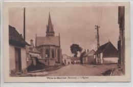 80 - VILLE LE MARCLET - Eglise - Other Municipalities