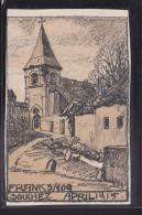 S57 /  Souchez B. Lens 1915 Feldpost - Weinheim - Arras