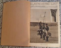 SOKOL ČSSR SLAVNOSTNI LIST IX SLETU VŠESOKOLSKEHO 1932,SLAVNOSTNI JAS 1938  Bound 6 PIECES - Other