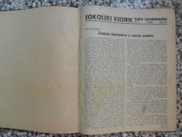 SOKOL, SOKOLSKI VJESNIK ZUPE ZAGREBACKE 1924 - Other