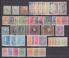 MONTENEGRO 1895-1913 Interesting Used / MH / MNH Lot As Shown - Montenegro
