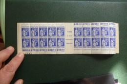 CARNET  PUBLICITAIRE  PUBLICITE Paix   Bleu 65 C - Non Classificati