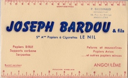 JOSEPH BARDOU   & FILS   LE NIL - Tabac & Cigarettes
