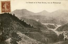 CPA - DONON (VOSGES) - LE GRAND ET LE ËTIT DONON VUS DE FRÉCONRUPT - France