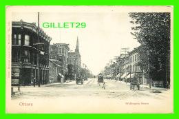OTTAWA, ONTARIO - WELLINGTON STREET - ANIMATED - MONTREAL IMPORT CO - - Ottawa