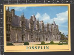 """Josselin. Façade Interieure Du Chateau. Timbro """"Centenaire De La Tour Eiffel""""- Viaggiata 1989 - FR1 - Josselin"""