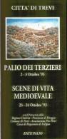 CITTA' DI TREVI - APPUNTAMENTI D'AUTUNNO .- Anno 1993 - Dépliants Turistici