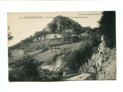 Cp - Arrivée à St Laurent Par La Route De Grusse (39) - - Francia