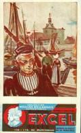 Buvard -      Biscottes EXCEL - Collection Moulins Hollandais Anthentiques - Non Classés