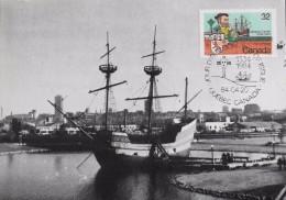 CP. - 1er D'émission 1984 - Jacques Cartier Québec - Canada Le 20.04.1984 - SUPERBE - Maximumkaarten