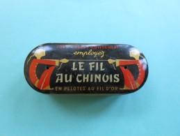 Boîte  Vide   LE FIL AU CHINOIS  7 X 2,8 Cms - Boxes